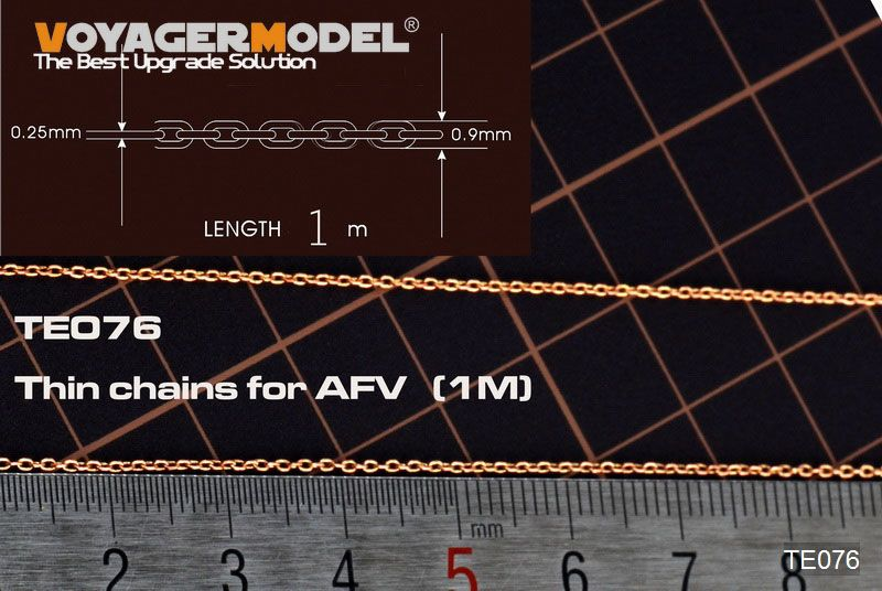 VoyagerModel TE076 Thin chains for AFV (1M)