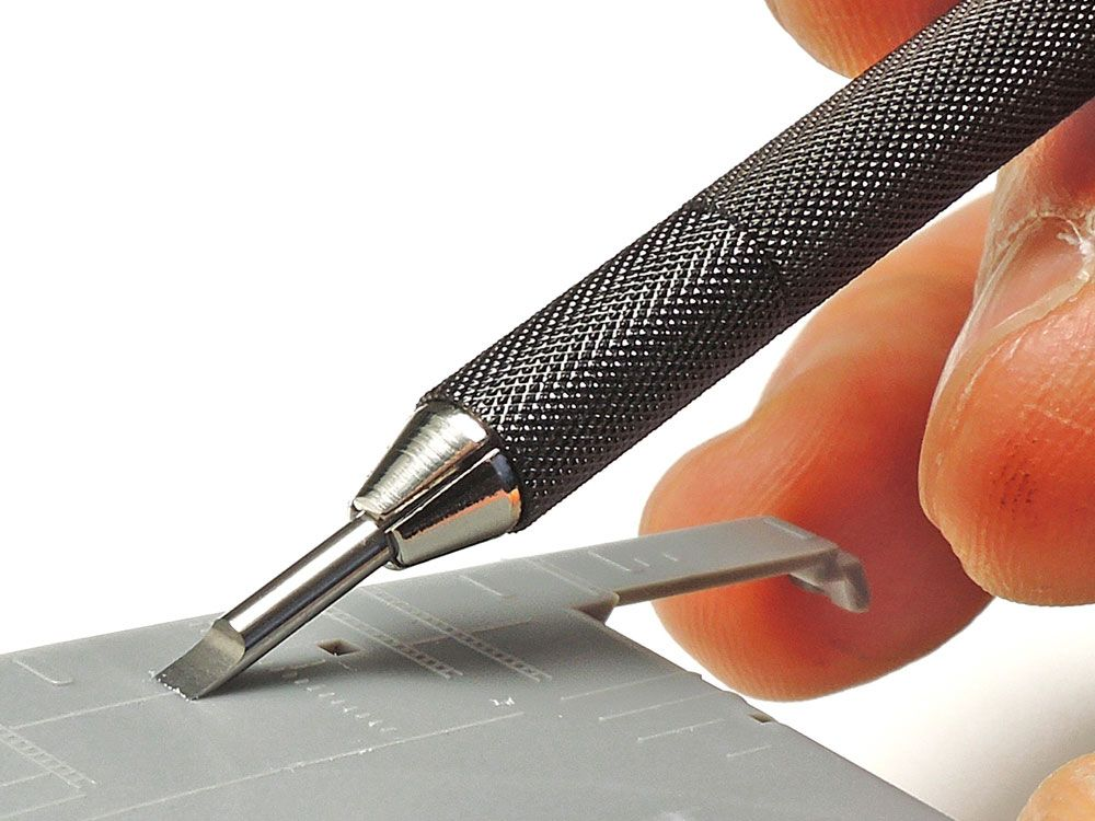 Tamiya 74143 Modeling Flat Chisel Blade 2mm
