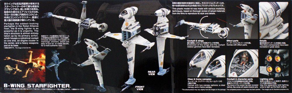 Bandai 0230456 B-Wing Starfighter