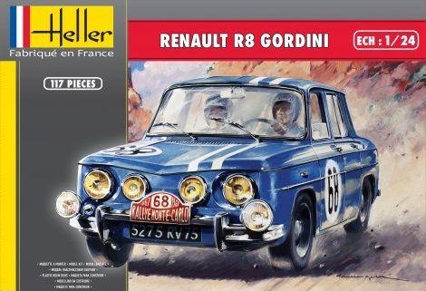 Heller 80700 Renault R8 Gordini
