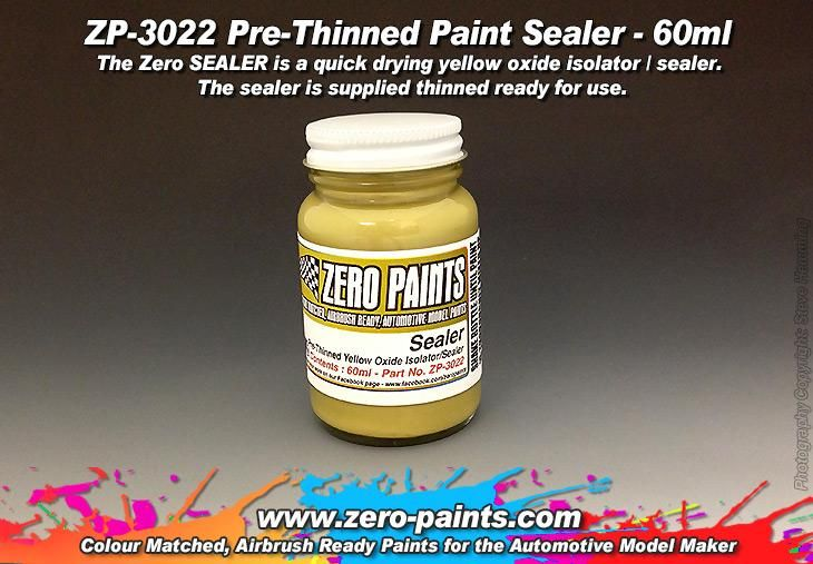 ZERO Paint ZP-3022 Pre-Thinned Paint Sealer