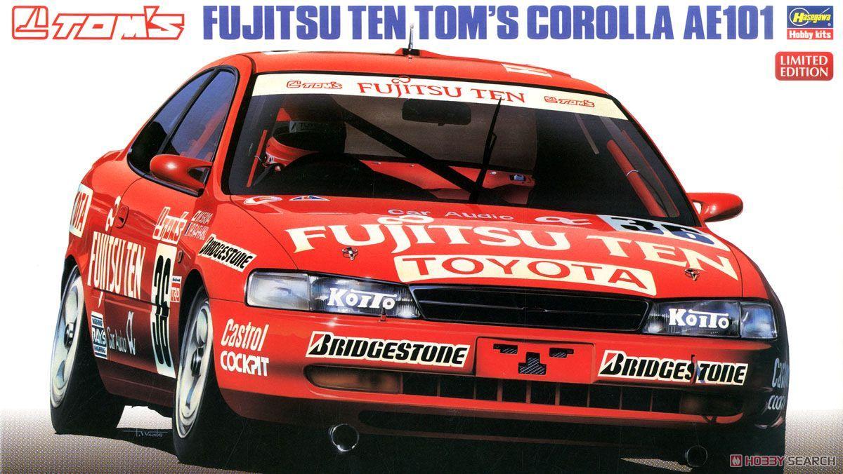 Hasegawa 20302 Fujitsu Ten Toms Corolla AE101