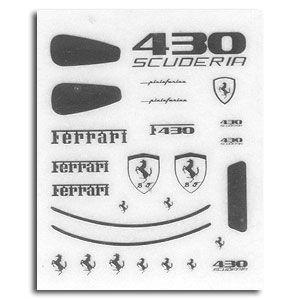A+Club MS-015 FERRARI 430 SCUDERIA Metallic LOGO