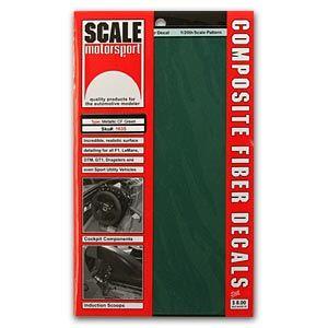 Scale Motorsport 1635 Metallic Green Carbon Fiber