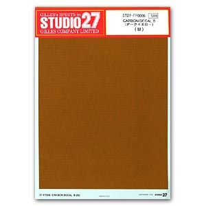 Studio27 FP0006 Carbon Decal B (Dark Yellow) (M)