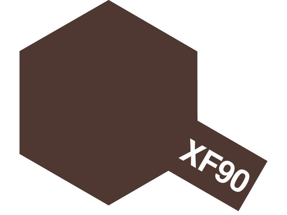 Tamiya 81790 MINI XF-90 Red brown 2