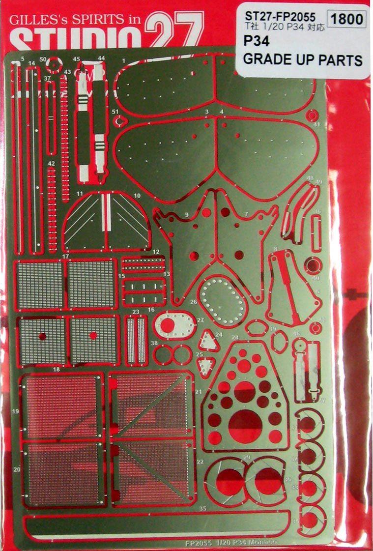 Studio 27 FP2055 P34 MONACO Upgrade Parts