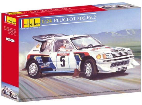 Heller 80716 Peugeot 205 EV 2