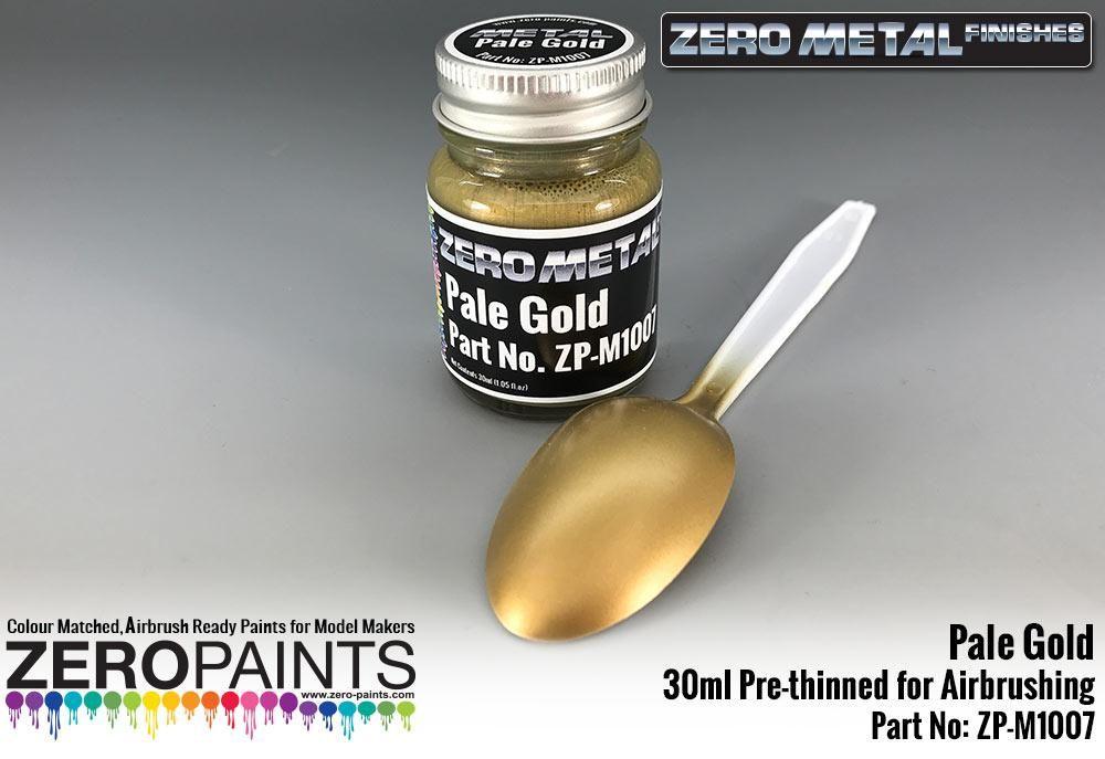 ZERO Paint ZP-M1007 Pale Gold Paint - 30ml