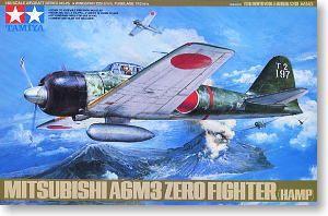 Tamiya 61025 Mitsubishi A6M3 Zero Fighter Type32 (Zeke)