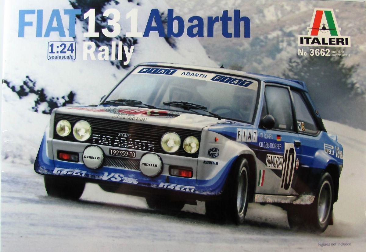 Italeri 03662 Fiat 131 Abarth Rally