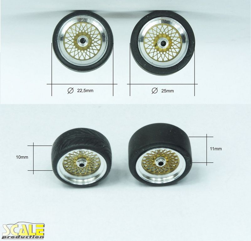 """Scale Production SPRF24135-1 17"""" BBS E56"""
