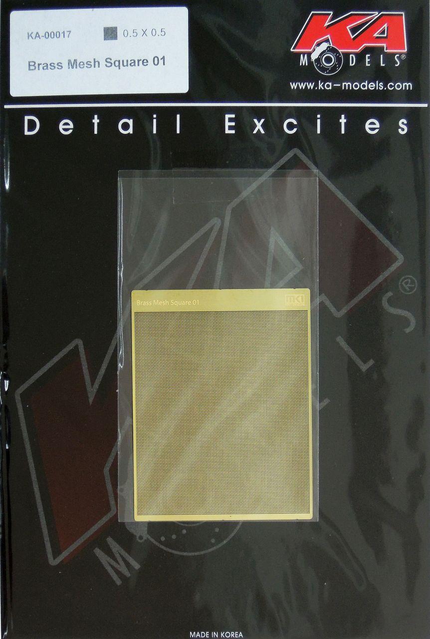 KA-Models KA00017 Brass Mesh Square 01