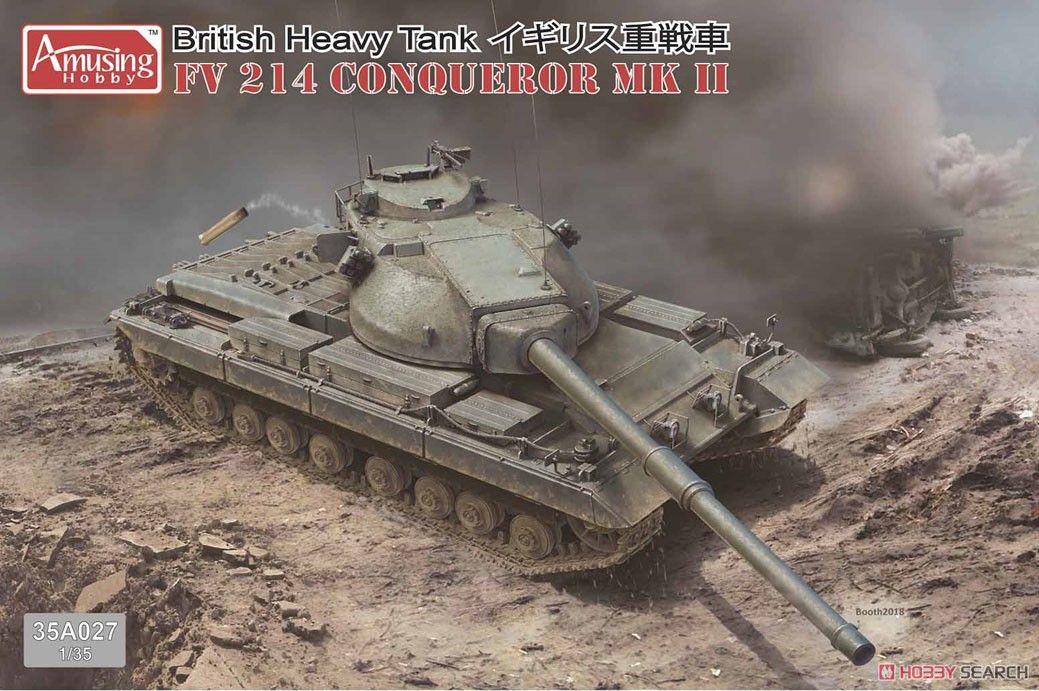 Amusing Hobby 35A027 British Heavy Tank FV214 Conqueror MKII