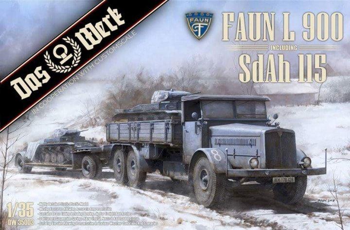 Das Werk DW35003 Faun L900 with SdAh 115