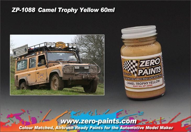 ZERO Paint ZP-1088 Camel Trophy Yellow