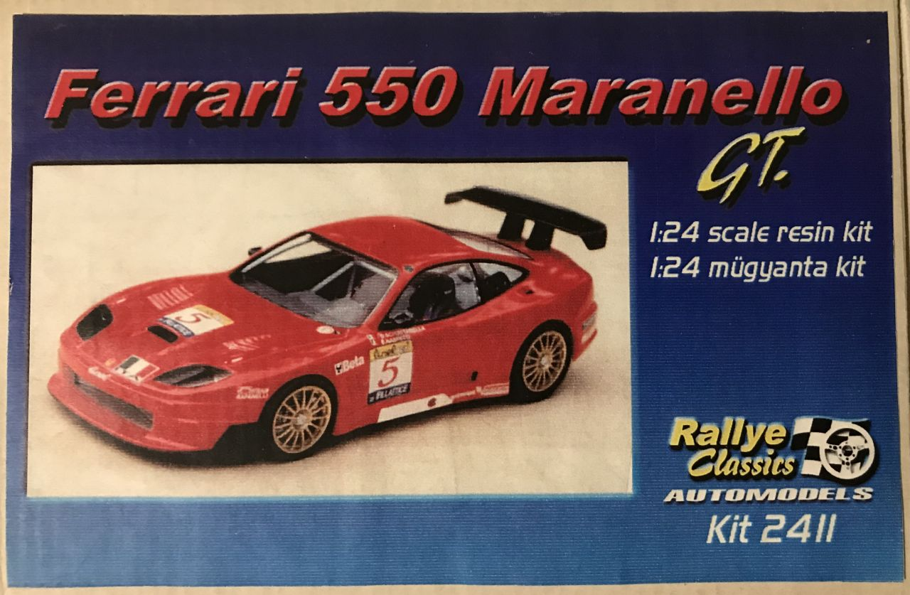 Rally Classics 2411 Ferrari 550 Maranello GT.