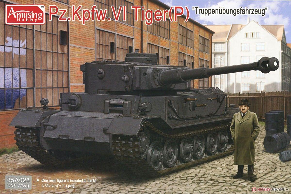 Amusing Hobby 35A023 Pz.Kpfw.VI Tiger(P) Truppenübungsfahrzeug