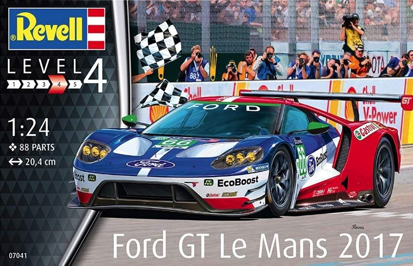 Revell 07041 Ford Gt Le Mans 2017
