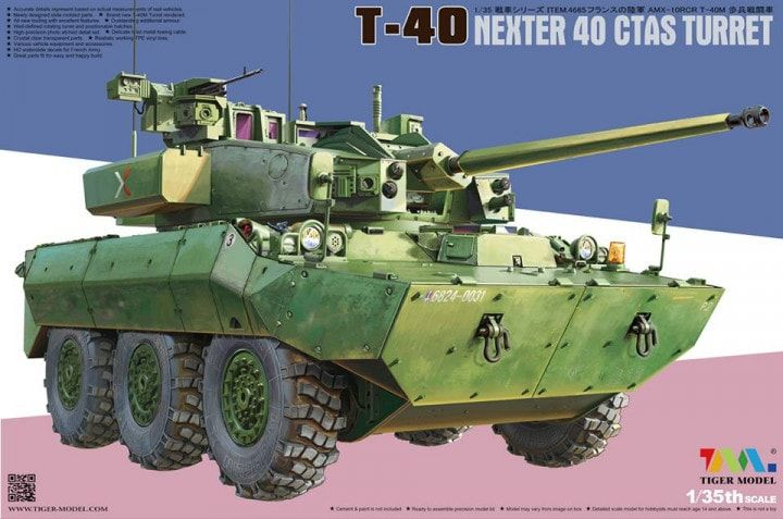 Tiger Model 4665 T-40 NEXTER