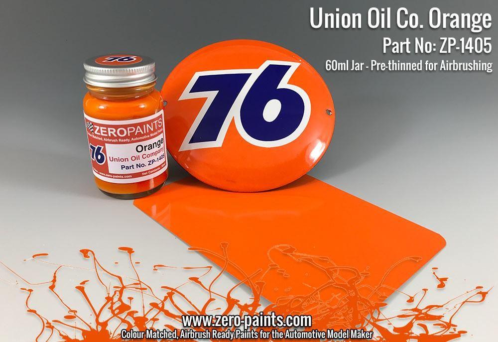 ZERO Paint ZP-1405 Union Oil Co 76 Orange
