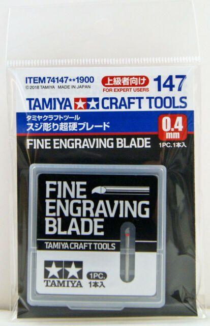 Tamiya 74147 Fine Engraving Blade 0.4mm