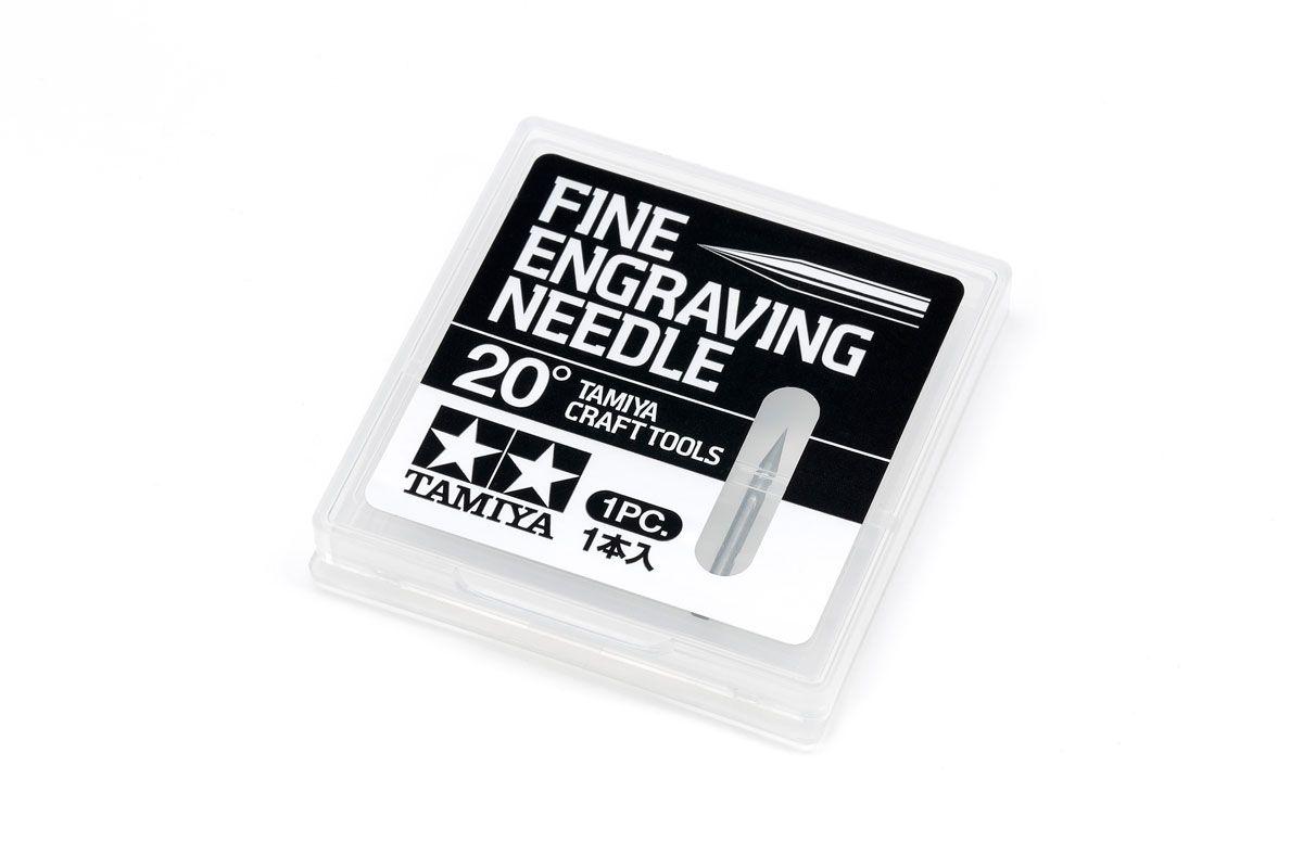 Tamiya 74148 Fine Engraving Needle 20°