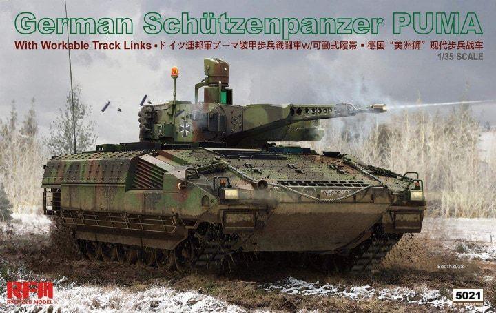 Ryefield Model 5021 German Schützenpanzer Puma