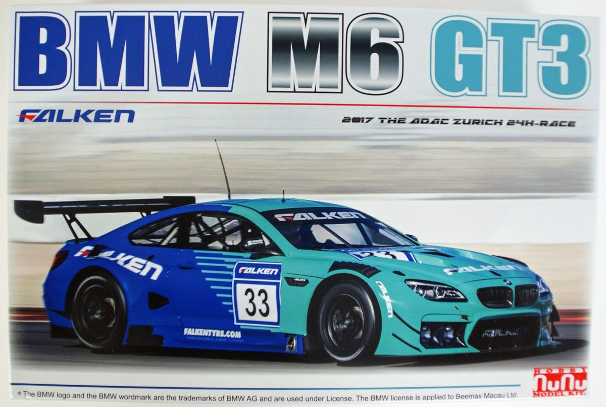 NuNu 24002 BMW M6 GT3 Falken 2017 The ADAC Zurich 24H-Race