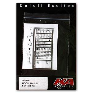 KA-Models KA-24004S Hood Pin Etched part SET2