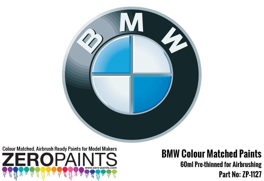 ZERO Paint ZP-1127 BMW Colour Matched Paints