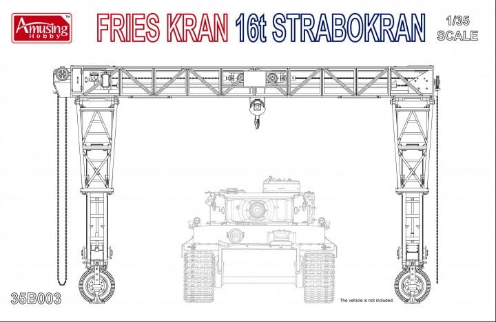Amusing Hobby 35B003 Fries Kran 16t Strabokran