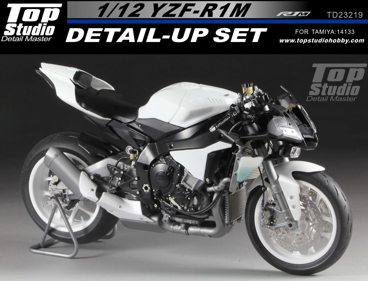 Top Studio TD23219 YZF-R1M Detail-up Set
