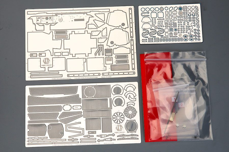 Hobby Design HD02-0387 Lancia Delta S4 Detail-UP Set For Beemax B24020