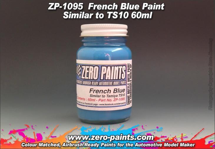 ZERO Paint ZP-1095 French Blue Paint - Similar to TS10
