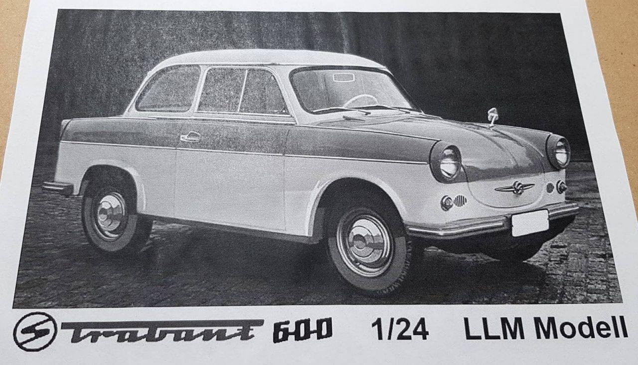 LLM Modell 24001 Trabant 600