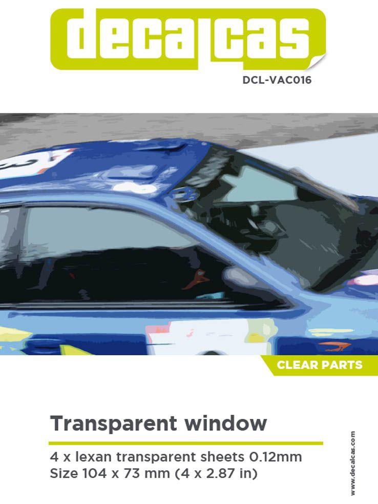 Decalcas VAC016 Transparent window