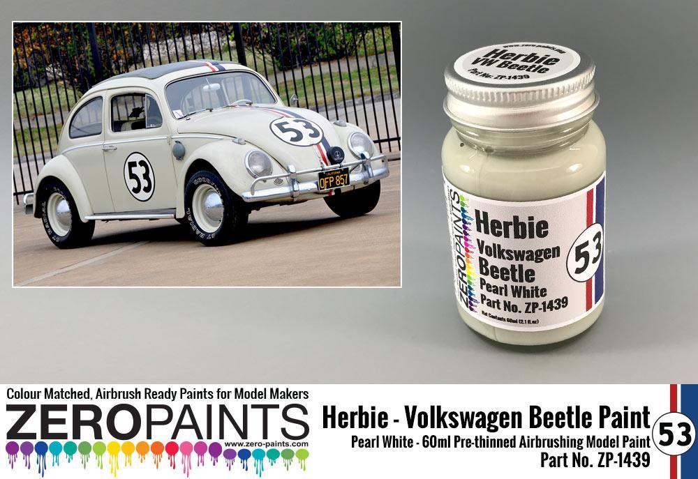 ZERO Paint ZP-1439 Herbie #53 Volkswagen Beetle Paint