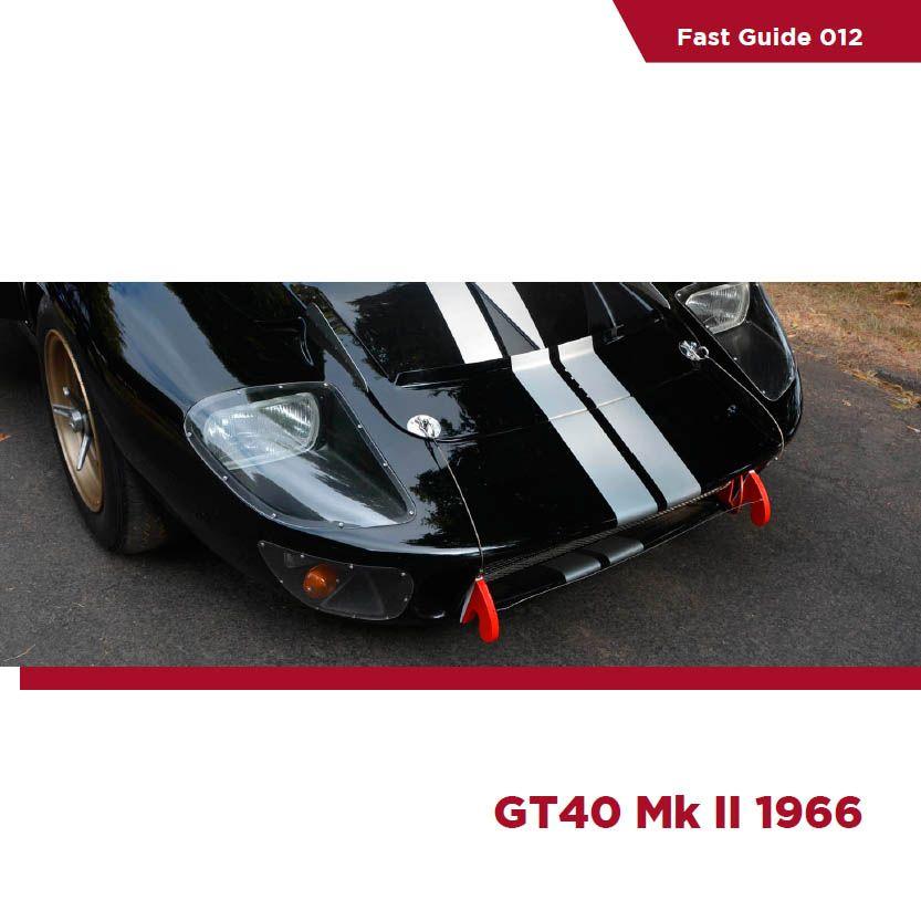 Komakai KOM-FG012 Fast Guide - GT40 Mk II 1966
