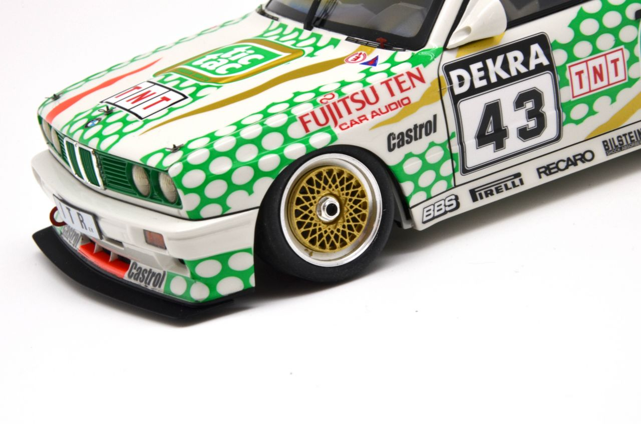 Decalcas DCL-DEC005 BMW M3 E30 - Tic Tac Tauber Team