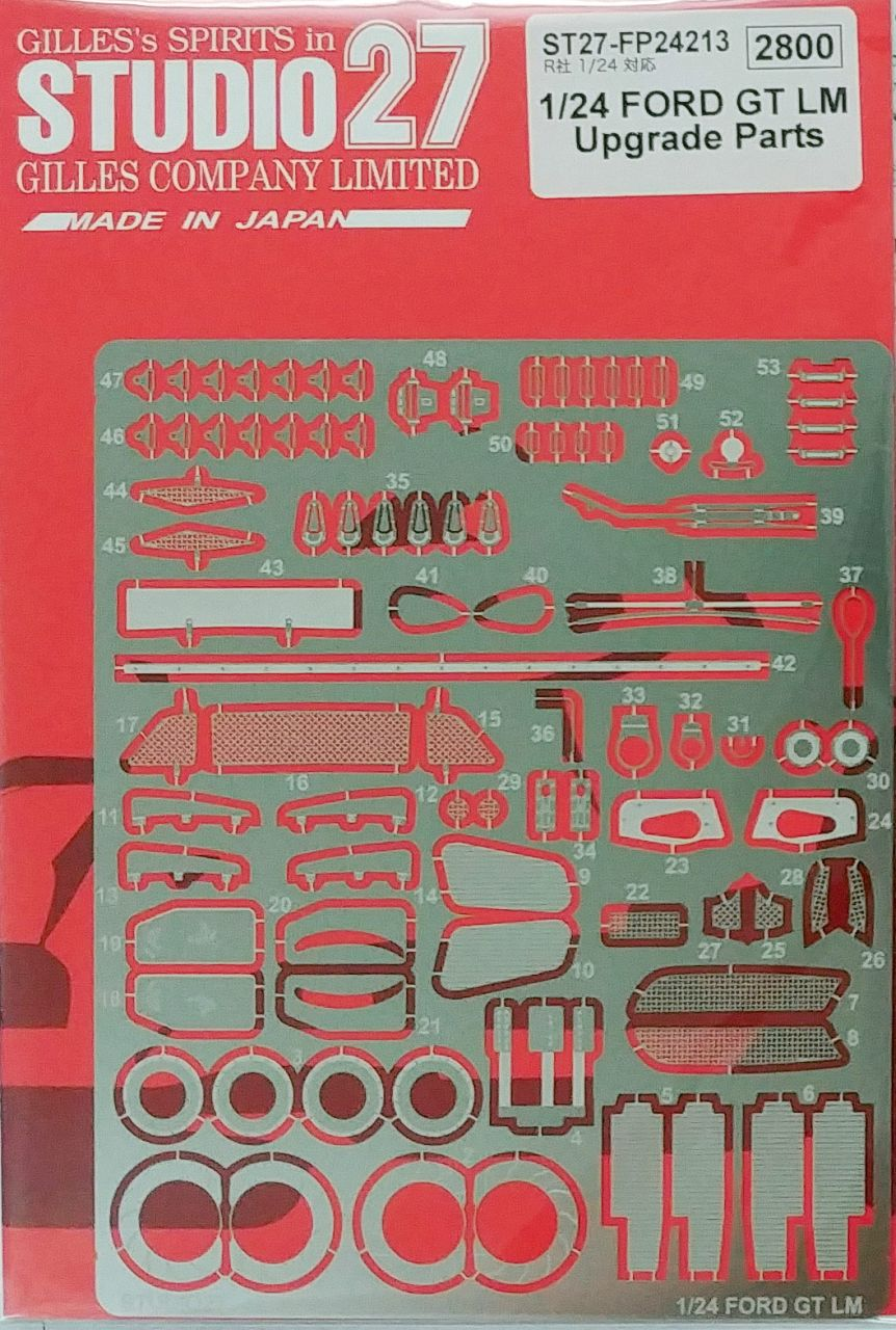 Studio 27 FP24213 Ford GT LM Upgrade Parts for Revell