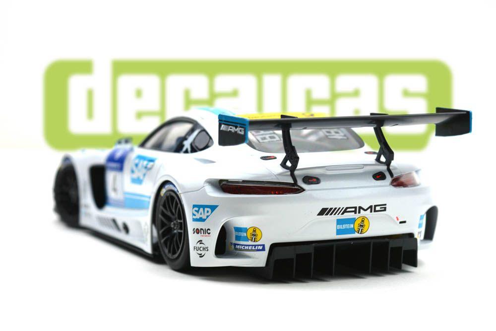 Decalcas DCL-DEC010 - Mercedes AMG GT3 - AMG Team Black Falcon