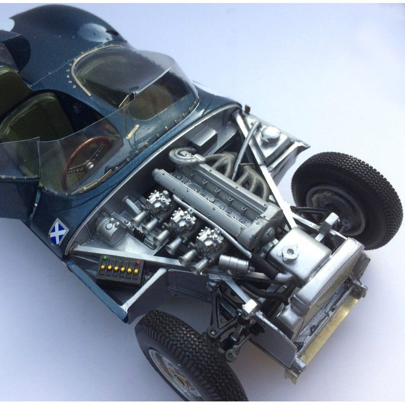 Profil24 P24109K Jaguar D Type Short Nose n°4 1st Le Mans 1956