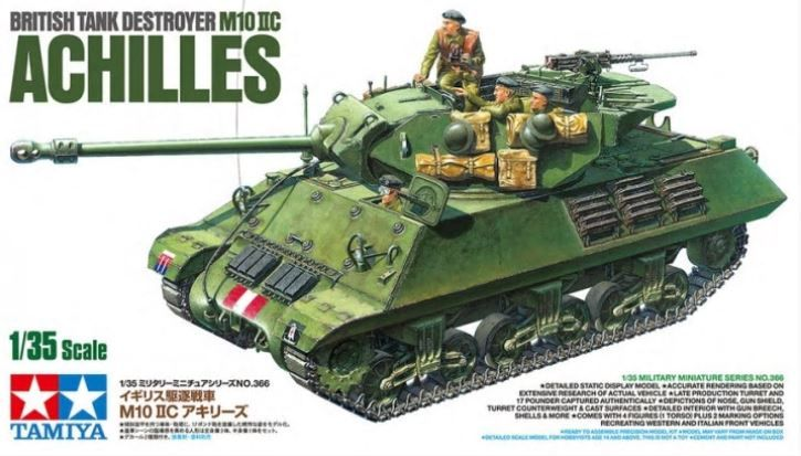 Tamiya 35366 British Tank Destroyer M10 IIC Achilles