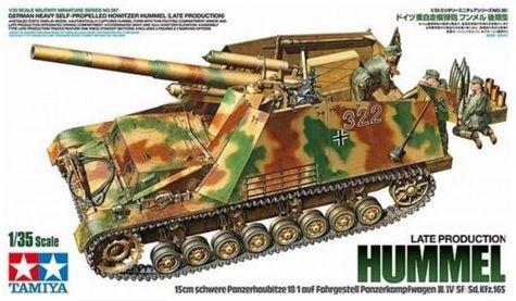 Tamiya 35367 Sd.Kfz.165 Hummel (Late)