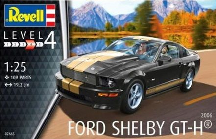 Revell 07665 Ford Mustang Shelby GT-H 2006