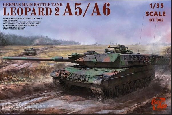 Border Model BT002 Leopard 2 A5-A6