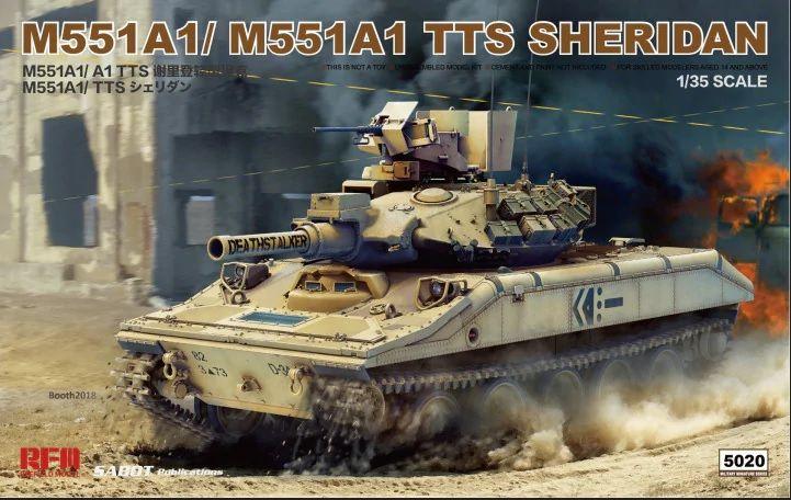 Rye Feild Model 5020 M551A1/M551a1 TTS Sheridan