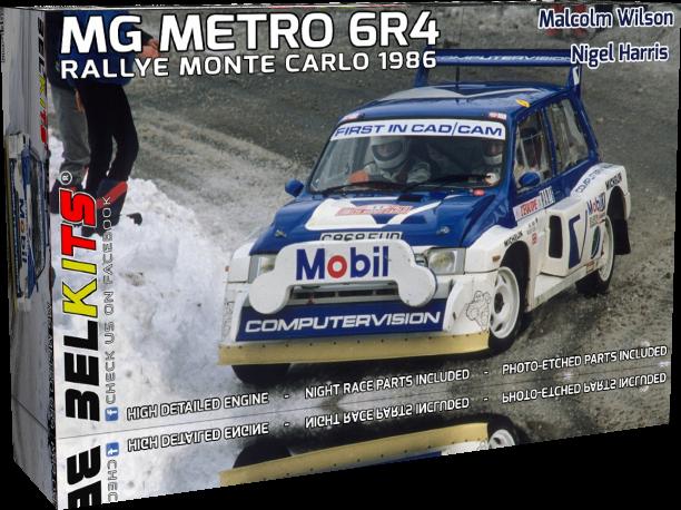 Belkits BEL015 MG Metro 6R4 1986