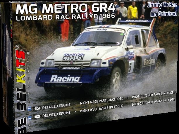 Belkits BEL016 MG Metro 6R4 1986